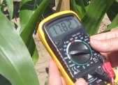 Digital Leaf Sensor Meter